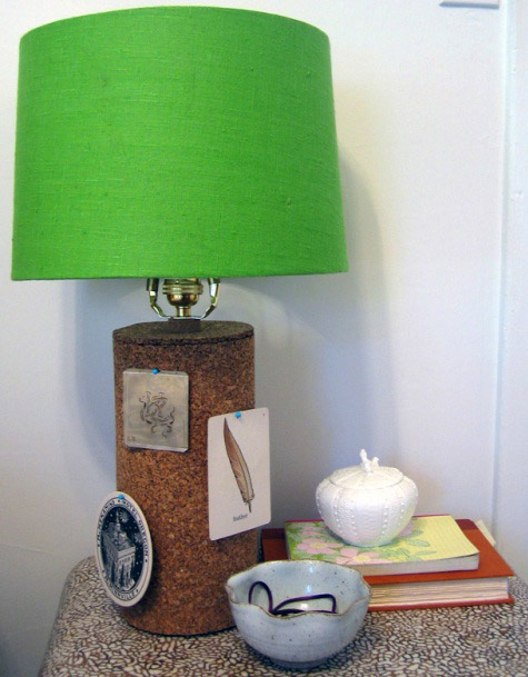 Diy project kates cork lamps designsponge kates cork lamps aloadofball Images