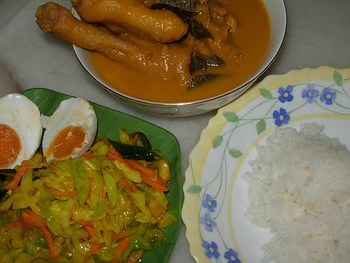 home cooked nasi kandar
