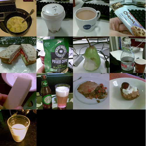 What I Ate: Monday 7th, 2008