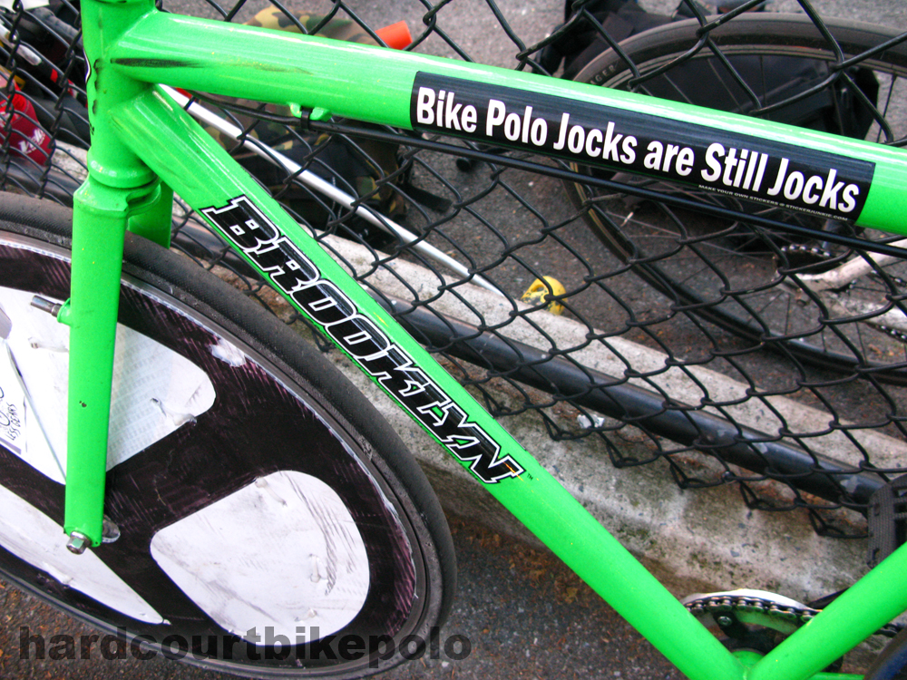 bike polo jocks sticker