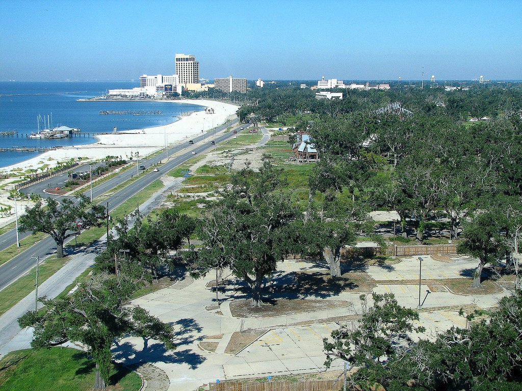 Biloxi Mississippi.....looking west