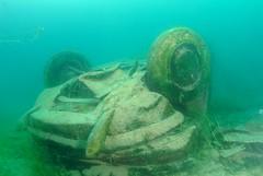 Lac Bleu - DS (brych.martin) Tags: marine underwater citroen ds lac diving d200 freshwater sous plongee ffessm dxd200