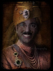 Maharajah of Huescapur (designldg) Tags: portrait people india man smile spain colours joke silk imagination  indiasong hourofthediamondlight