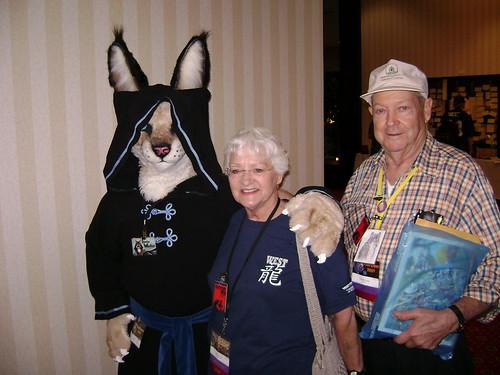 Davin, Grandma Kage, and Grandpa Kage