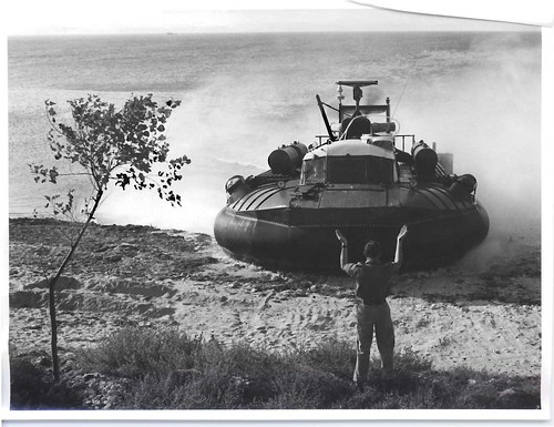 Guiding a Hovercraft in to land
