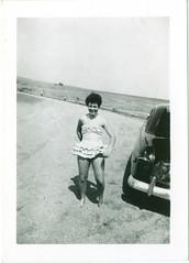 Darla at the beach