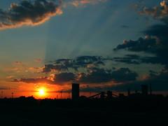 (kamke) Tags: city clouds katowice miasto zachod chmury pejzaz
