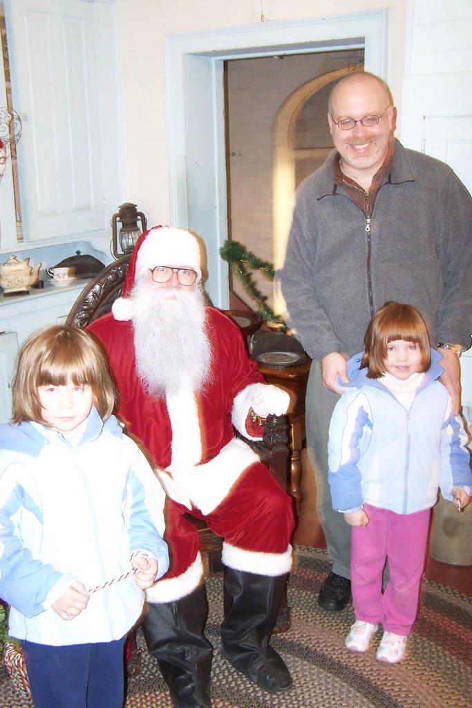 Santa, yeah...