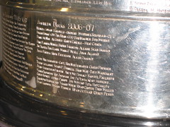 Ducks Names on the Stanley Cup