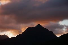 Kualoa Sunset: Purple Dusk (AH in Pgh) Tags: blue sunset orange mountains silhouette clouds hawaii purple oahu vista koolaumountains windwardoahu kualoapark kualoaregionalpark