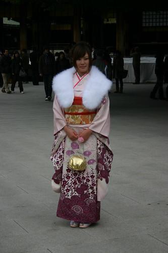 Traditional wear, Kimono.