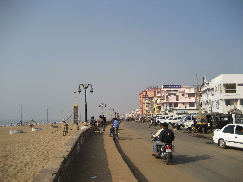 Hotels In Front Of Puri Sea Beach