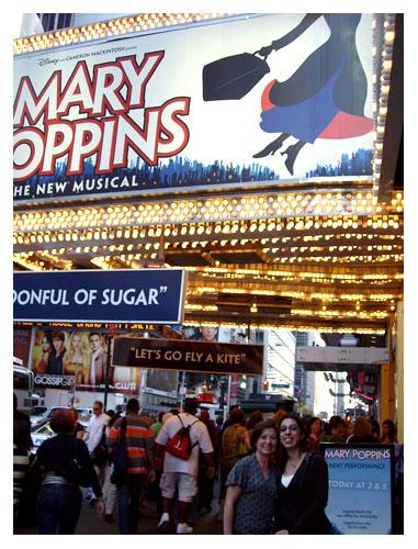 Us at Mary Poppins