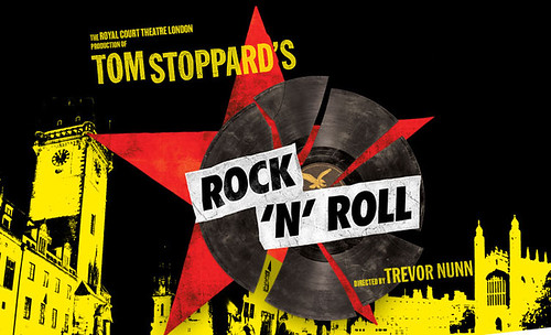 "Flyer for Tom Stoppard's Rock 'N' Roll Tom Stoppard's new play ""Rock-n-Roll"" ..."