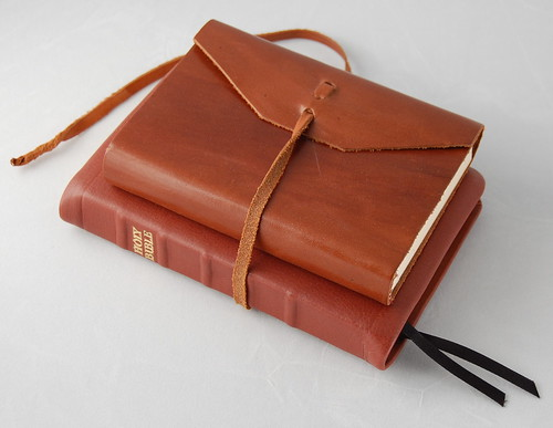 Leather Journal with Calfskin ESV