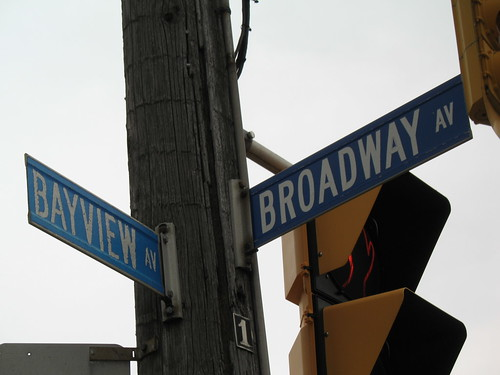 Bayview and Broadway