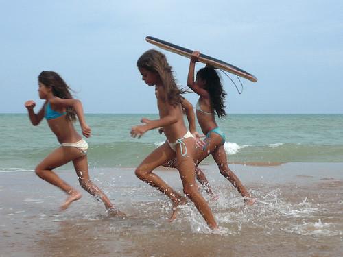 Itaunas beach, Brazil