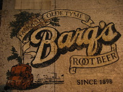 Barq's Famous Olde Tyme Root Beer (faded sign in the West End, Cincinnati) (bousinka) Tags: west berlin beer cincinnati end root woodrow barq