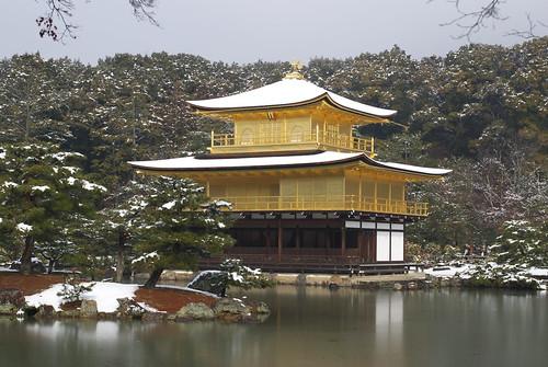 Rokuonji temple (鹿苑寺)