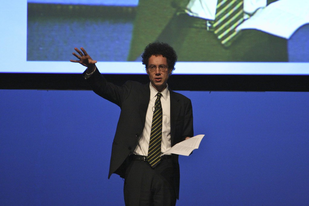 Malcolm Gladwell by eschipul, on Flickr