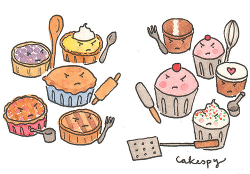 Mini Pies Vs. Cupcakes