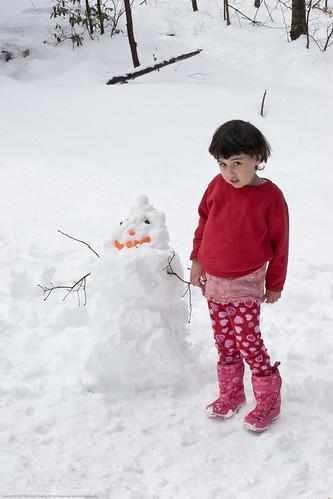 Carrot Chip Snowman & KD: coy