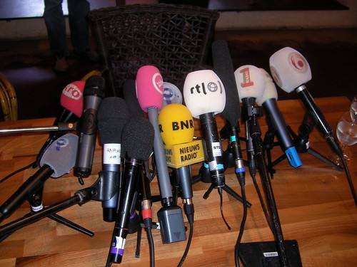 A number of microphones