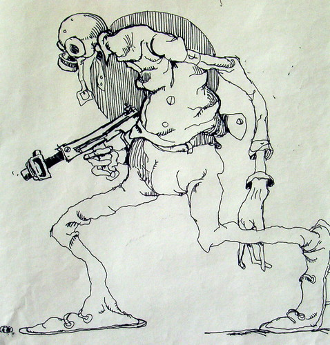 Wizards - Original Production Drawing #7
