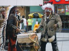 April 4th (amydavies87) Tags: street urban musician music drums nativeamerican