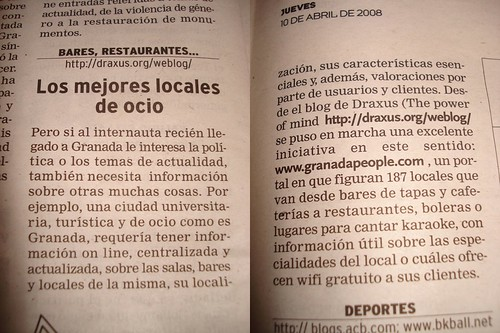 GranadaPeople en Ideal