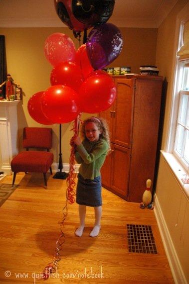 Sarah's balloons