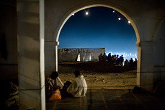 IMG_3442 Shadows In Moonlight (Swiatoslaw Wojtkowiak) Tags: india night canon asia indian fair 5d indien rajasthan inde     beneshwar