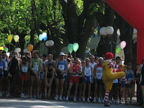 Partenza della Maratona