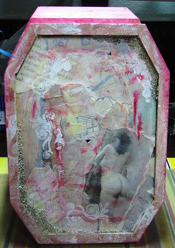 Collaged box
