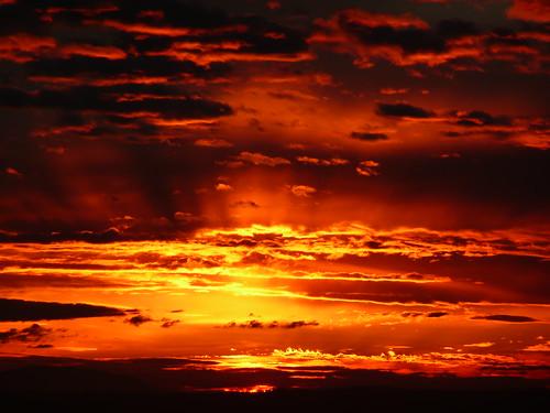 sunset</div> <div class=