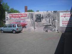 New Central Auto Body Mural
