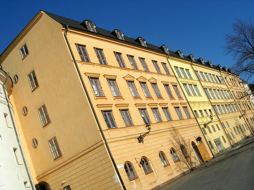 Houses at Riddarholmen, Stockholm