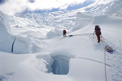 ROUTE NAVIGATION (photo61guy) Tags: alaska glacier climbing mountaineering challengeyouwinner platinumheartaward