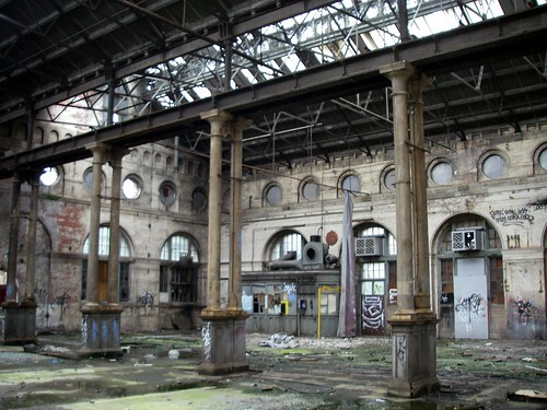 Leith Tram Works Interior