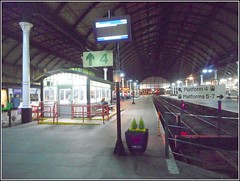 Deserted Platforms .. (** Janets Photos **) Tags: uk hull cities nightshots railwaystations desertion