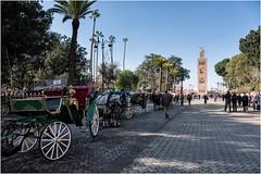 23. Koutoubia Mosque near JemaaEl Fna DSCF0547 (janet.oxenham10) Tags: marrakech morocco northafrica market koutoubia mosque