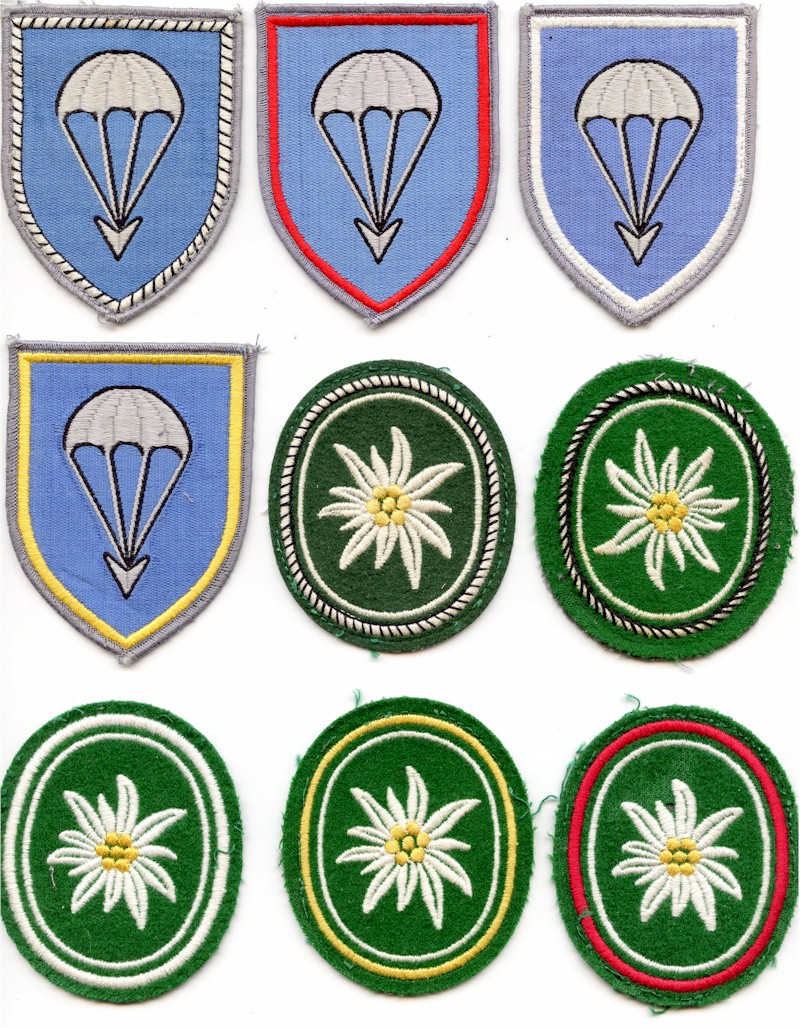 Arm patches bundeswehr patches