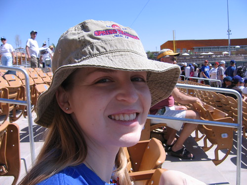 Lauren at the game