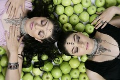 Inga & Anush Arshakyan Sisters (Alexanyan) Tags: green apple girl beautiful beauty face fruit sisters official europa europe russia sister song moscow country contest inka inga armenia vote 2009 esc anush armenian eurovision moskva russland armenien caucas armenie rossija armenians caucasia hayastan armenienne hayasdan armenisch rmeny arshakyan    arsakyan arshakian