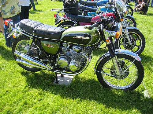 Honda CB500Four OVM Vintage Motorcycle Show
