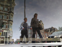 Reflections Of Amsterdam - Each One Teach One! (AmsterSam - The Wicked Reflectah) Tags: holland reflection water netherlands amsterdam puddle spring europe wicked nophotoshop lifeisgood 2009 carpediem unedited waterreflections mobilephonecam amstersam reflectah amsterdamthebestcityintheworld reflectionsofamsterdam wickedreflections checkoutmywickedwebsitewwwamstersamcom puddlepictures c905 c905sonyericssonmobilephonecam c905sonyericsson thewickedreflectah amstersmthewickedreflectah