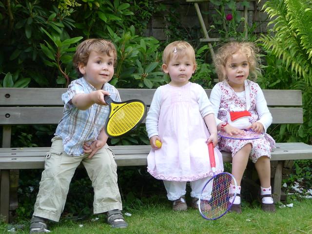 Game, set and match - Arthur, Nynke, Sarah