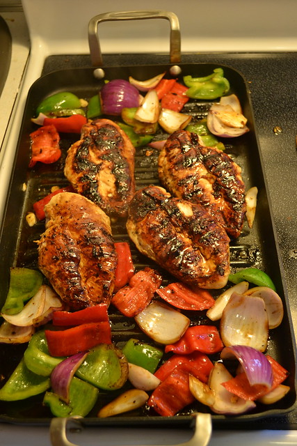 Grilled Honey Soy Glazed Chicken w/ Vegetables | The Kitchen Tutor