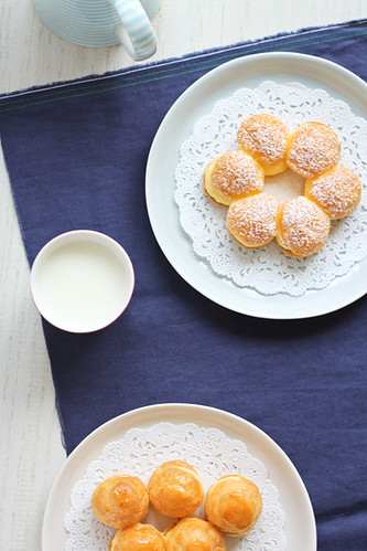 Pasta choux sense gluten