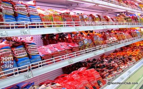 Cold Cuts and Century Tuna Hotdog